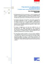 Propuesta de una política pública en comunicaciones