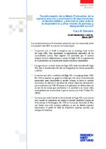 Transformación de la matriz productiva: de la agroexportación y sustitución de importaciones al neoliberalismo
