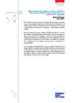 Valoraciones del enfoque extractivo del plan nacional de gestión integrada del recurso hídrico de El Salvador