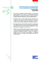 El Acuerdo de París y la Agenda 2030