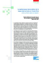 La gobernanza democrática de la seguridad privada en Costa Rica