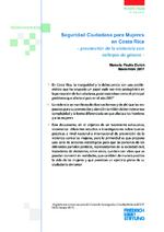 Seguridad ciudadana para mujeres en Costa Rica
