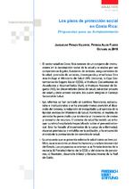 Los pisos de protección social en Costa Rica