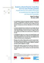 Evasión y fraude fiscal en Costa Rica ante los retos fiscales globales